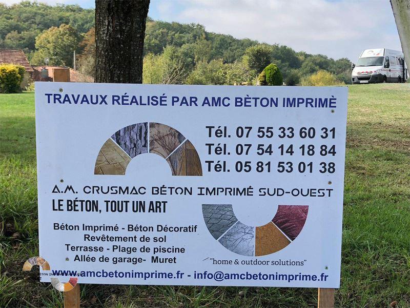 Beton Imprime Auchm2 -