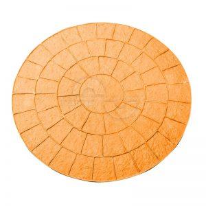 Moule imitation Cercle pave 80 cm Beton Imprime