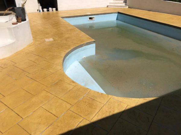 Plage de piscine labenne